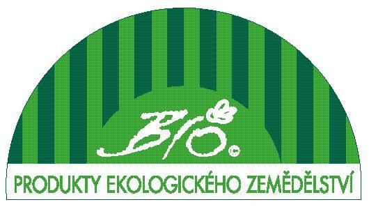 "Logo bioproduktu - ""biozebra"""