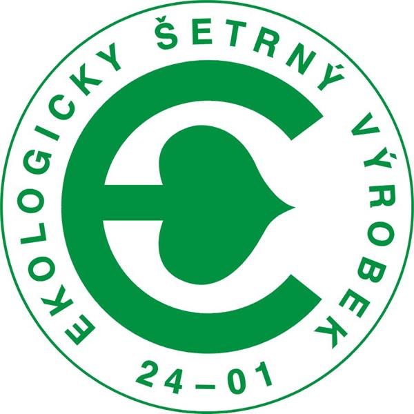 Logo - Ekologicky šetrný výrobek